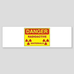DANGER - RADIOACTIVE ELEMENTS! Bumper Sticker