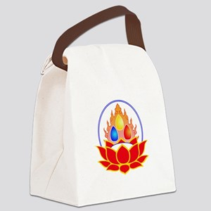 the three jewels Canvas Lunch Bag