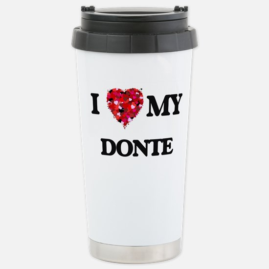 I love my Donte Stainless Steel Travel Mug
