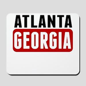 Atlanta Georgia Mousepad