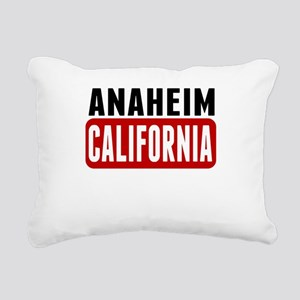 Anaheim California Rectangular Canvas Pillow