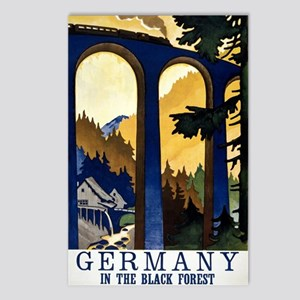 Germany In the Black Fore Postcards (Package of 8)