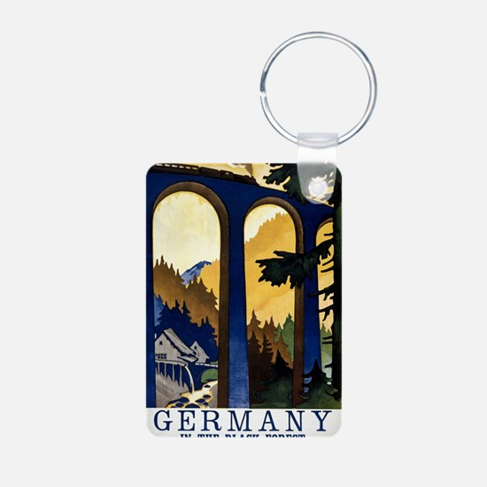 Germany In the Black Fores Keychains