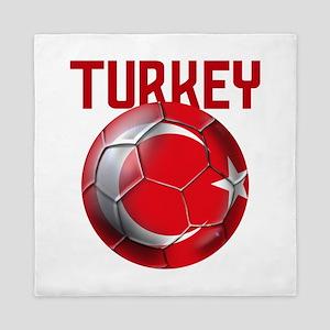 Turkey Football Queen Duvet