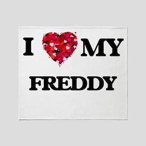 I love my Freddy Throw Blanket