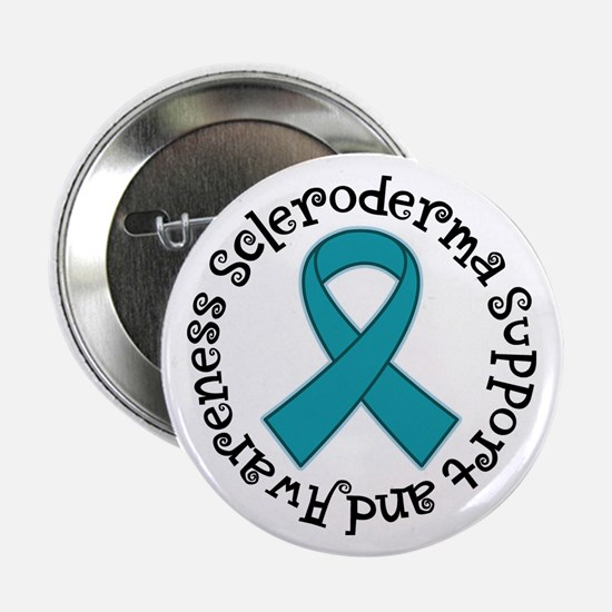 """Scleroderma Support awareness 2.25"""" Button (100 pa"""