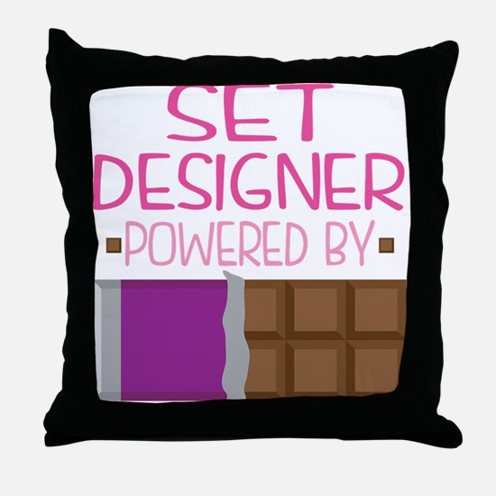 Set Designer Throw Pillow