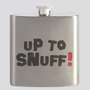 UP TO SNUFF! Flask