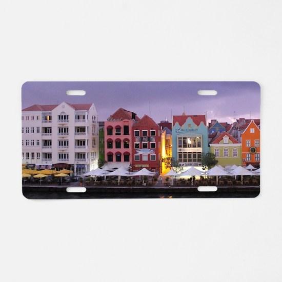 Curacao Dusk Aluminum License Plate