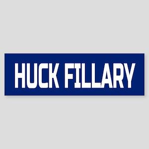 Huck Fillary Bumper Sticker