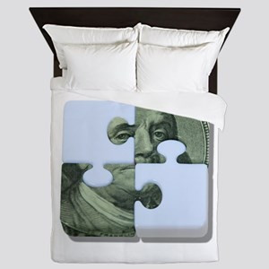 MoneyPuzzle101310 Queen Duvet