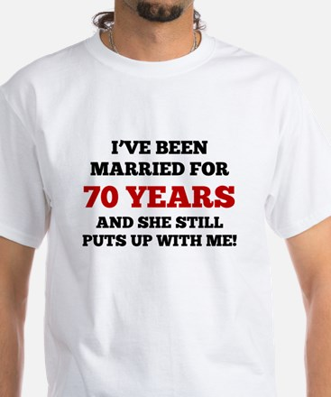 Ive Been Married For 70 Years T-Shirt