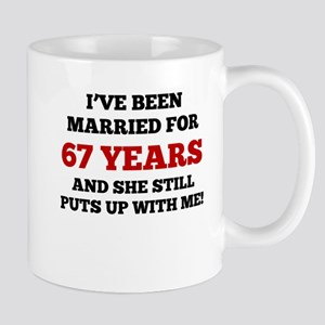 Ive Been Married For 67 Years Mugs