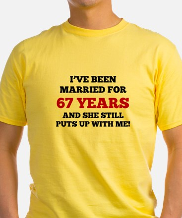 Ive Been Married For 67 Years T-Shirt