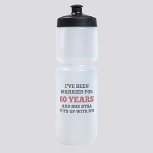 Ive Been Married For 60 Years Sports Bottle