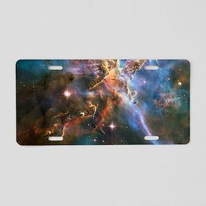 Carina Nebula Aluminum License Plate