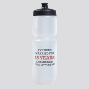 Ive Been Married For 25 Years Sports Bottle