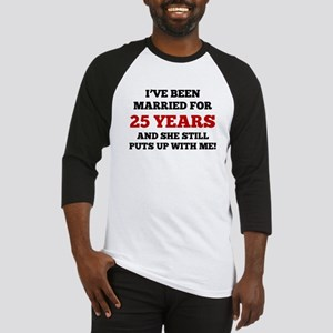 Ive Been Married For 25 Years Baseball Jersey