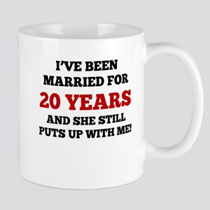 Ive Been Married For 20 Years Mugs