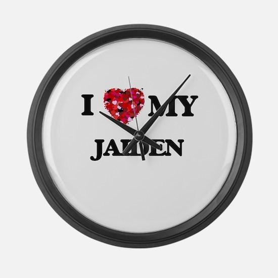 I love my Jaiden Large Wall Clock