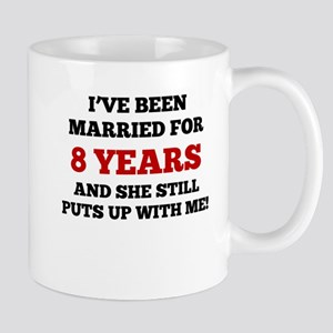 Ive Been Married For 8 Years Mugs