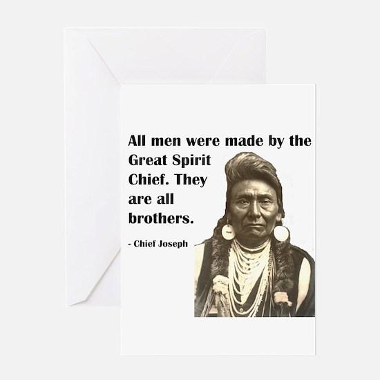 Brotherhood Quote Greeting Card