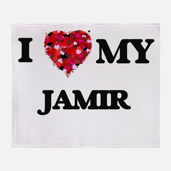 I love my Jamir Throw Blanket