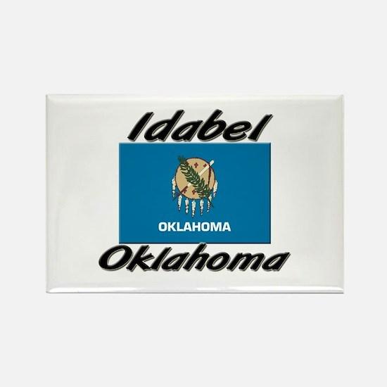 Idabel Oklahoma Rectangle Magnet