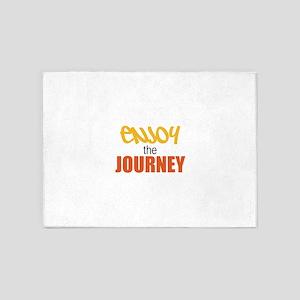 Enjoy The Journey 5'x7'Area Rug