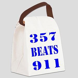 357 BEATS 911 Canvas Lunch Bag