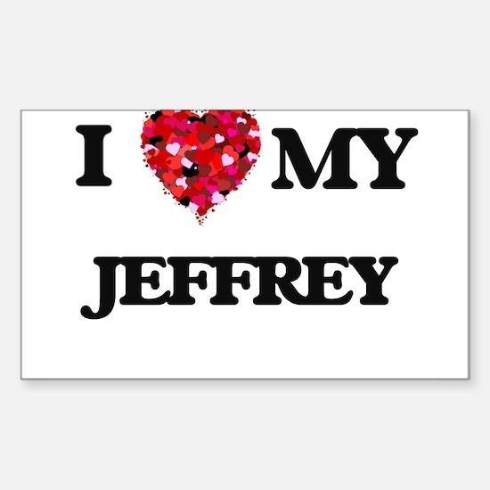 I love my Jeffrey Decal