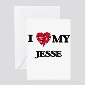 I love my Jesse Greeting Cards