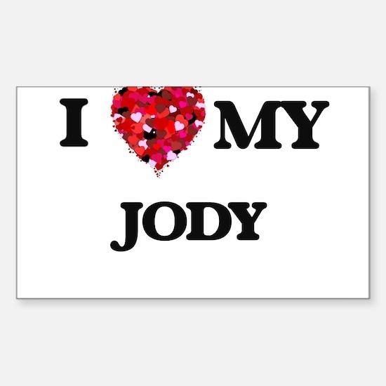 I love my Jody Decal
