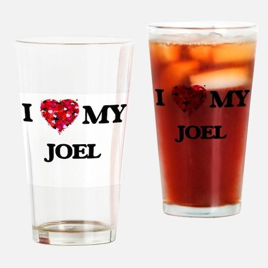 I love my Joel Drinking Glass