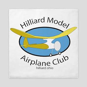 Hilliard Model Airplane Club Queen Duvet