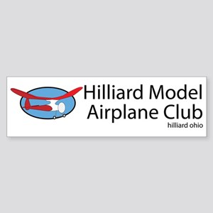 Hilliard Model Airplane Club Sticker (Bumper)