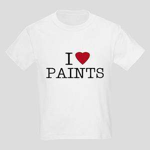 I Heart Paints Kids T-Shirt