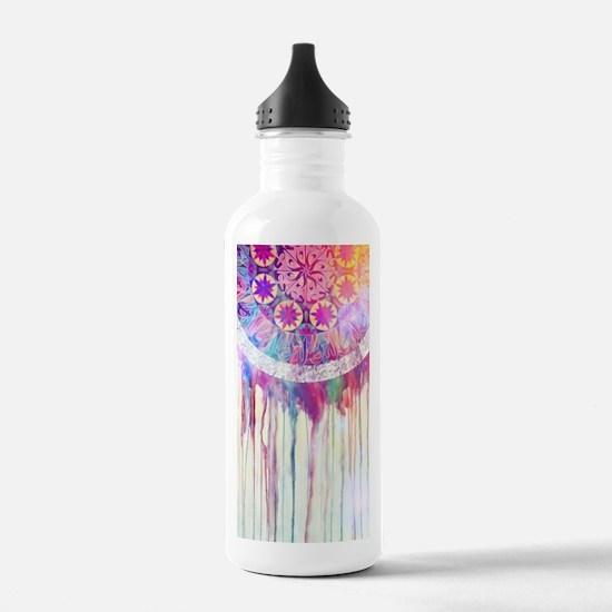 Urban Abstract Art Pai Sports Water Bottle