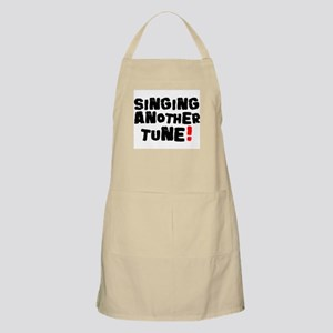 SINGING ANOTHER TUNE! Apron