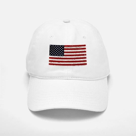 American Flag Declaration Indepence Baseball Baseball Cap