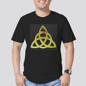 Triquetra, Charmed, Bo Men's Fitted T-Shirt (dark)