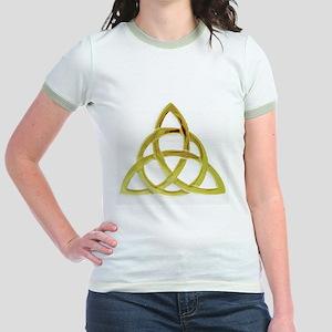 Triquetra, Charmed, Book of Sha Jr. Ringer T-Shirt