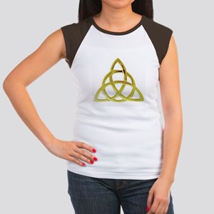 Triquetra, Charmed, Bo Junior's Cap Sleeve T-Shirt