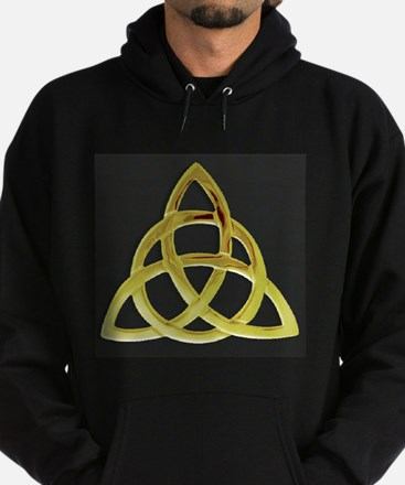 Triquetra, Charmed, Book of Shadows Hoodie (dark)