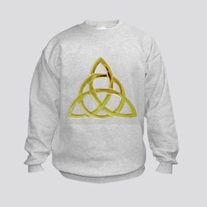 Triquetra, Charmed, Book of Shadow Kids Sweatshirt