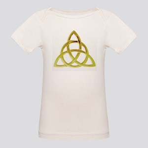 Triquetra, Charmed, Book of S Organic Baby T-Shirt
