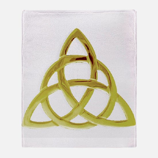 Triquetra, Charmed, Book of Shadows Throw Blanket