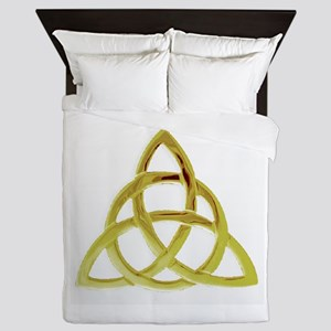 Triquetra, Charmed, Book of Shadows Queen Duvet