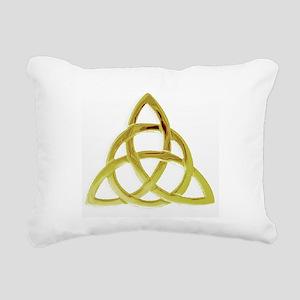 Triquetra, Charmed, Book Rectangular Canvas Pillow