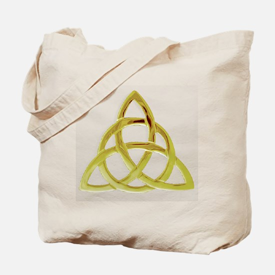 Triquetra, Charmed, Book of Shadows Tote Bag